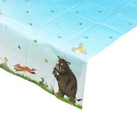 "Now you really can have tea with a Gruffalo. Have a monster of a time with this charming party range that shares the wit of the story book.  The Gruffalo table cover. 70"" x 47"""