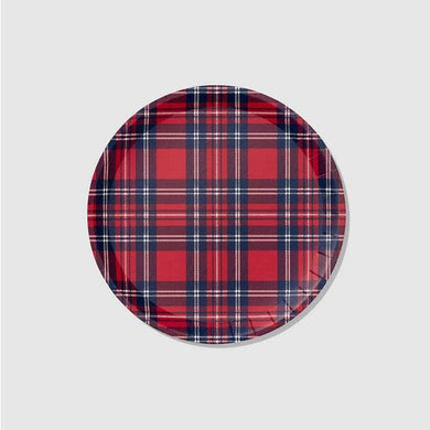 You'll go mad for these plaid plates that are part of our winter collaboration with Reese Witherspoon's Draper James. The tartan print adds a refined touch, but the plates are sturdy enough to accommodate the heartiest of holiday meals. Includes 10 plates.  9.25