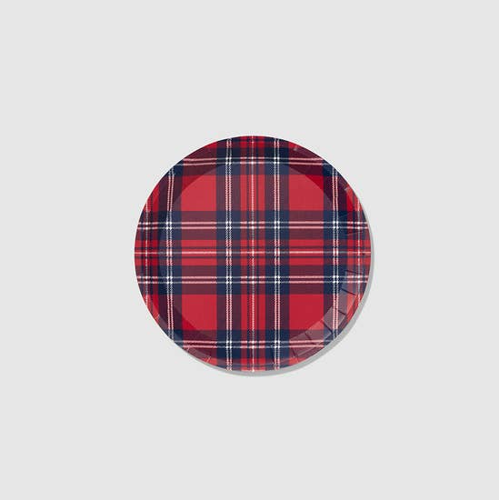 Holiday Plaid Small Plates