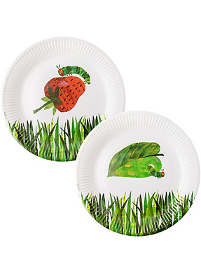 The Very Hungry Caterpillar Plates