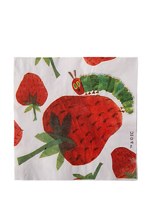 The Very Hungry Caterpillar Napkins by talking tables  5052714036320