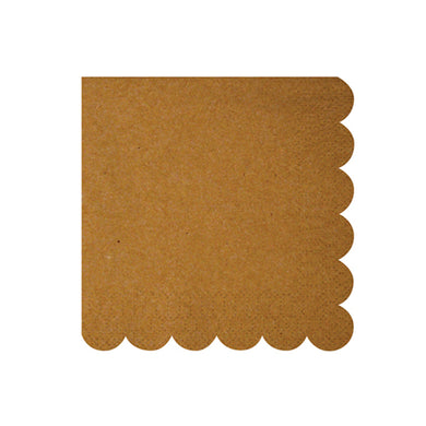 If you're planning a party and want your space to have an elegant, rustic feel to it, then you'll definitely need to look into our Kraft collection.  Pack of 20 Folded size: 5