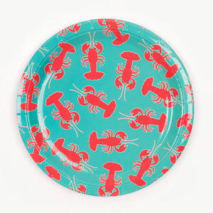 Lobster Party Plates by my little day  3700690807886