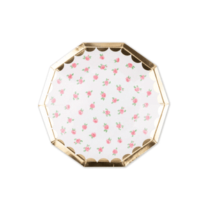 Lola Dutch Tea Rose Small Plates by daydream society  855478008603