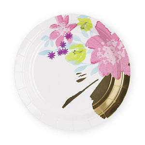 "Step up to the plate and put your party on in the right way with this festive set of 8 themed plates. 8 Paper plates 7"" wide"