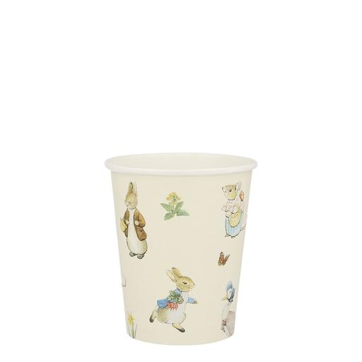 Delight your guests with refreshing drinks served in these charming cups. Featuring the wonderful Peter Rabbit and friends, they are perfect for a birthday party, picnic or baby shower.   Suitable for hot & cold drinks  Product dimensions: 3.125 x 3.5 x 3.125 inches  12 cups