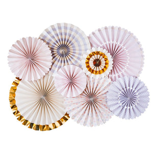 Princess party fans add just the amount of princess magic to your party!  Each fan box includes: 2-17 inch fans, 2-14 inch fans, 2-11 inch fans, and 2-8 inch fans. Each fan has an adhesive strip for perminant use, or a paper clip for temporary use. Each fan has a string attached for hanging.