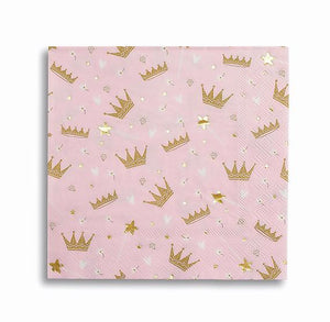Sweet Princess Napkins by daydream society  856801007850