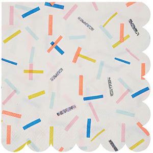 Sprinkles Small Napkins by Meri Meri  636997220147