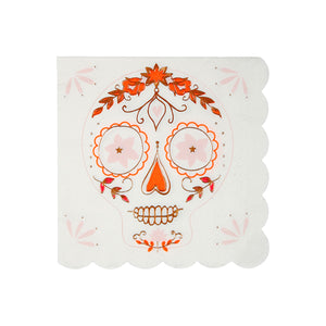 Sugar Skull Napkins by meri meri  9781534006751