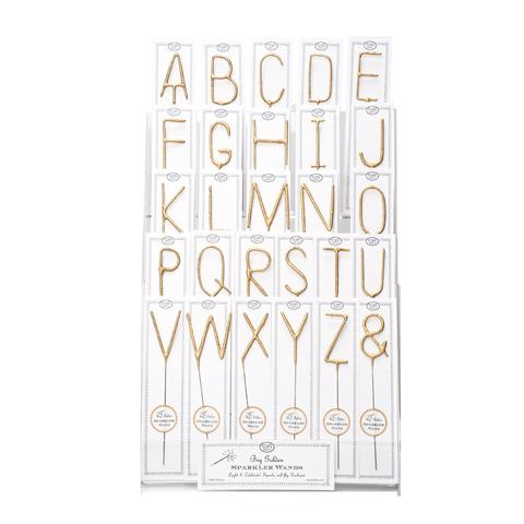 Big Golden Letters A-Z