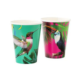 Tropical Fiesta Bright Party Cups by Talking Tables  5052715088960