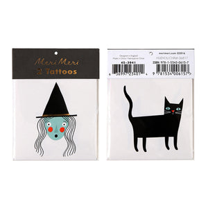 "What better way to get in the mood for spooky season than a batch of temporary tattoos!! 2"" x 2"""