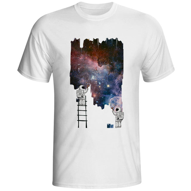Paint Space Graphic T-Shirt