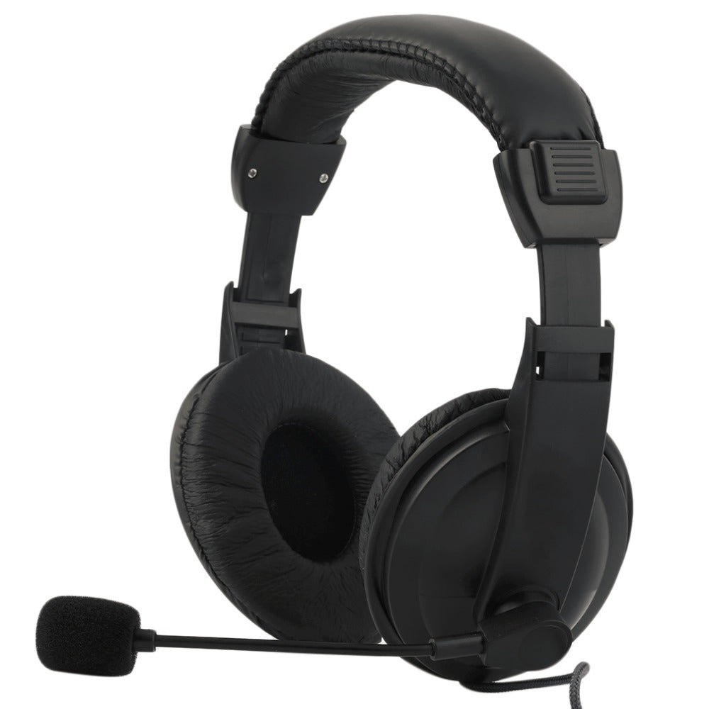 Solid Black Gaming Headset