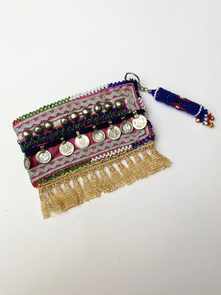 Hand Made Beaded Clutch
