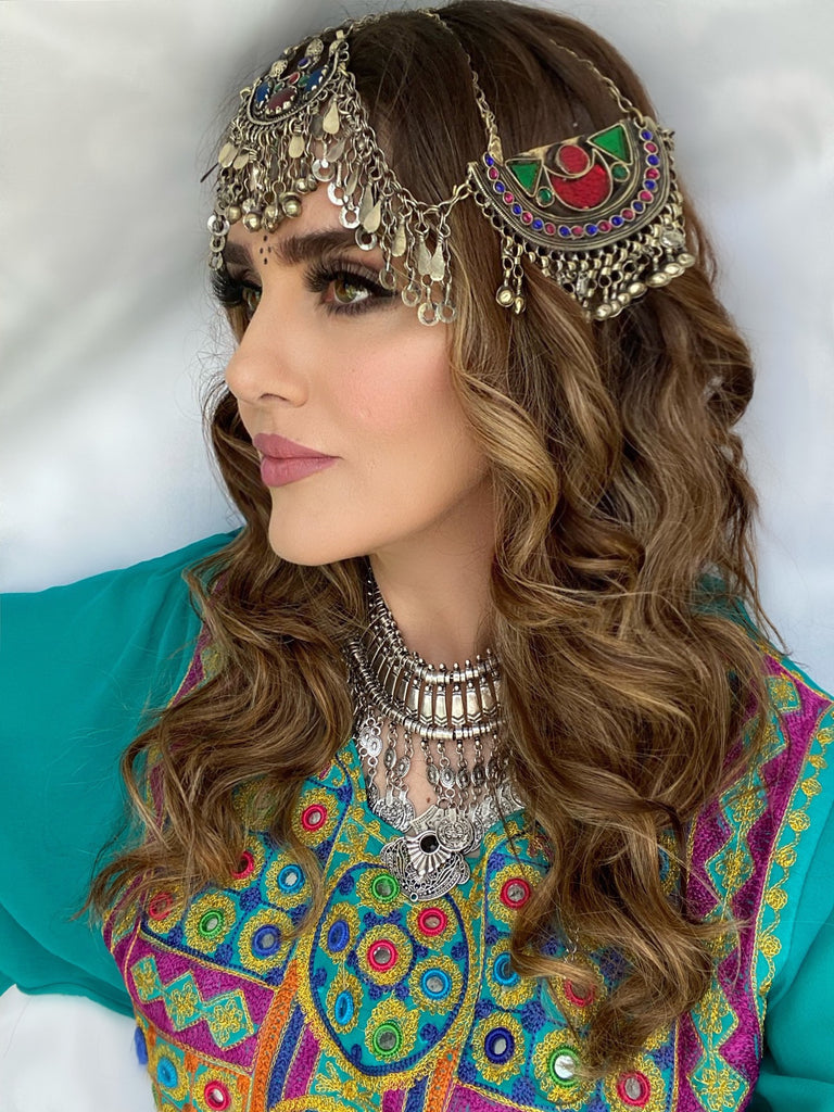 Afghan Kuchi Headpiece