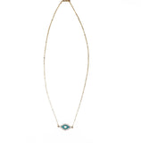 Evil Eye Necklace - Turquoise