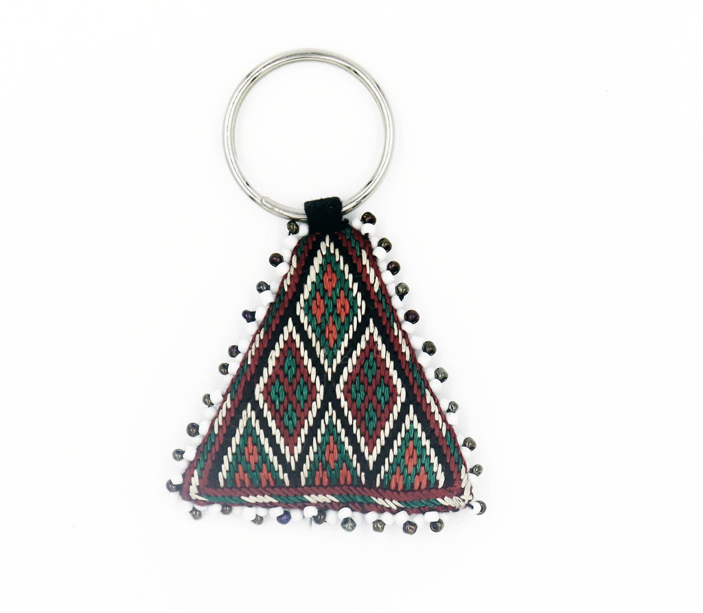 Hand Embroidered Key Chain