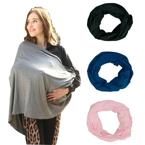 Baby Carseat Cover and Nursing Infinity Scarf - Amelia's Boutique