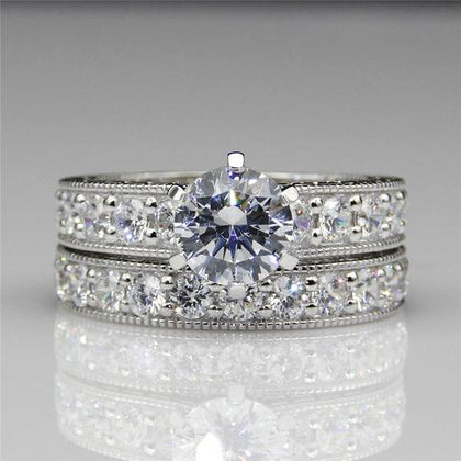 Luxury Diamond & Gemstone Engagement Rings