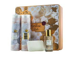 Gift Set - Royale Gardenia Big Metal Box