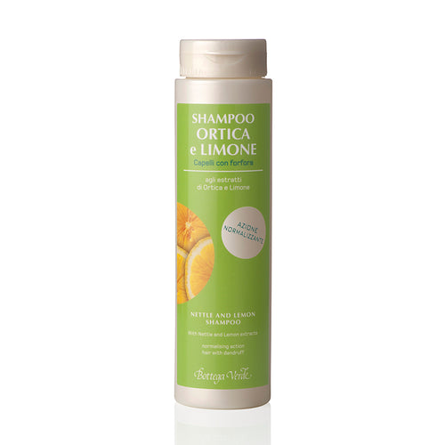Nettle And Lemon Shampoo With Nettle And Lemon Extracts (200 ml) - Normalising Action - Dandruff