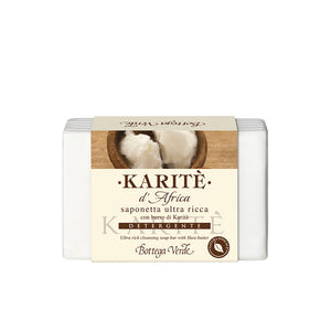 AFRICAN SHEA - ULTRA RICH CLEANSING SOAP BAR WITH SHEA BUTTER (150 G)