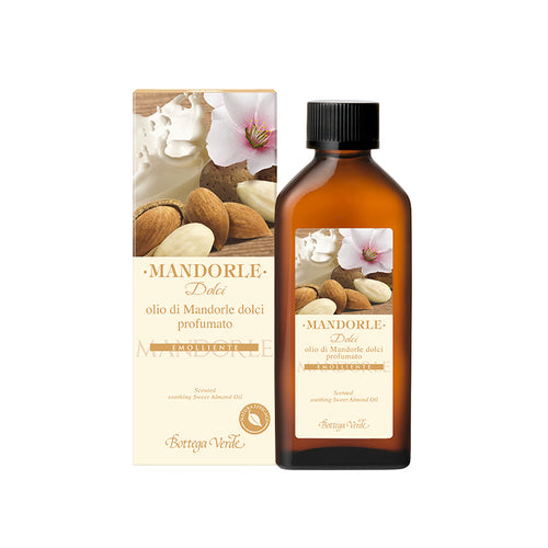 Mediterranean Almond - Nourishing and Repairing Silky Hair and Body Oil (100 ml) - Scented