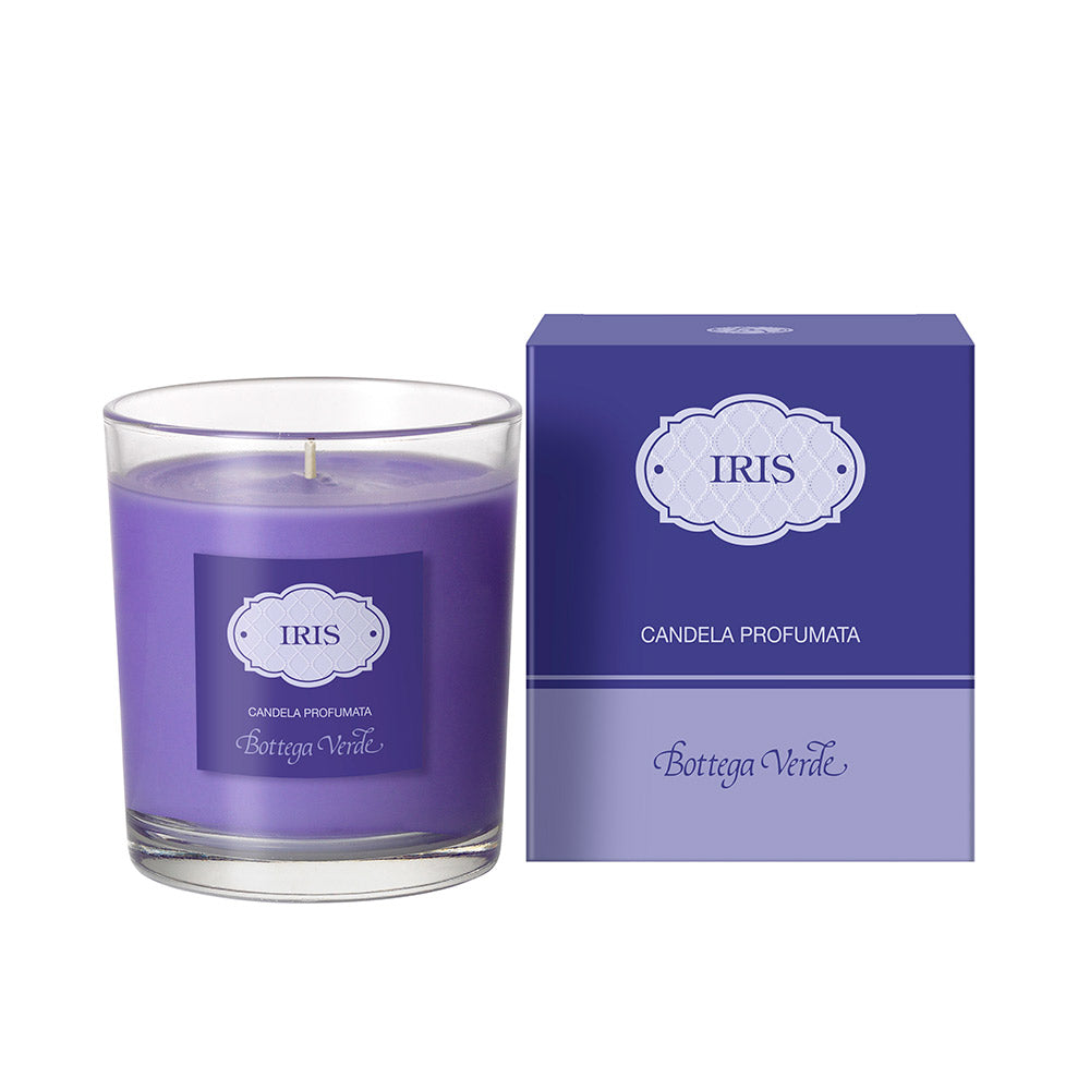 Iris - Scented Glass Candle