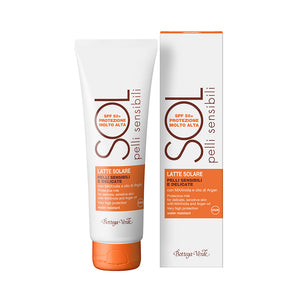 SOL Sensitive Skin - Protective Milk For Delicate, Sensitive Skin, With Maxnolia And Argan Oil (125 ml)