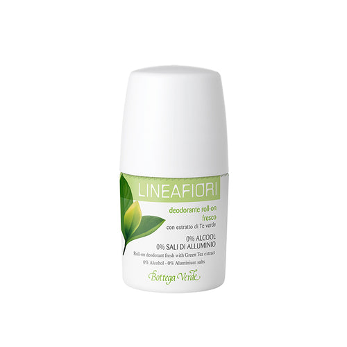 Roll-On Deodorant With Green Tea Extract (50 ml) - Fresh