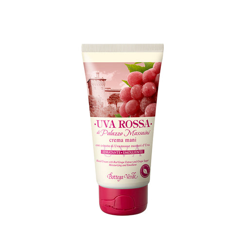 Red Grape - Hands Cream (75ml) - Moisturizing And Emollient