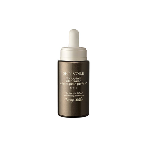 Skin Voile - Perfect Skin Effect - Moisturizing Foundation with Hyaluronic Acid and AQUAPHYLINE®, SPF15 (25 ml) - Honey