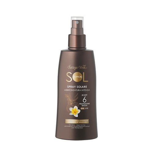 SOL Tropical - Sun Spray - Deep Tanning - With Brazil Nut Oil And Passionfruit Extract - SPF6 Low Protection (200 ml)