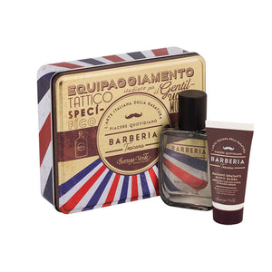 Men's Gift Set - Barberia Metal Case