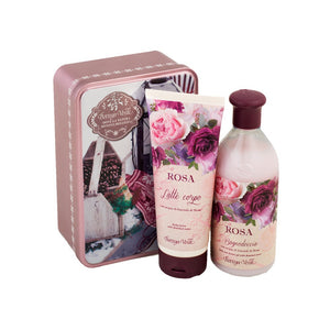 Gift Set - Rose Bath&Shower And Body Milk Gift Set