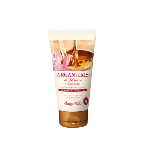 Moroccan Argan & Iris Hand Cream with Regenerating & Soothing Argan Oil and Iris Milk (75 ml)
