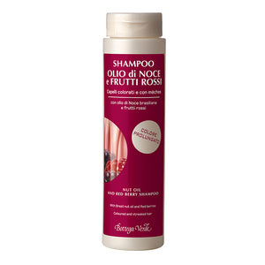 Nut Oil And Red Berry Shampoo, With Brazil Nut Oil And A Mix Of Red Berries (200 ml)