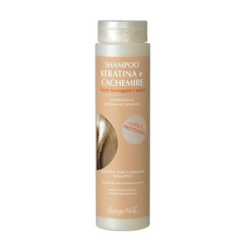 Hair - Keratin & Cashmere - Shampoo (200ml) - Dull And Damaged Hair