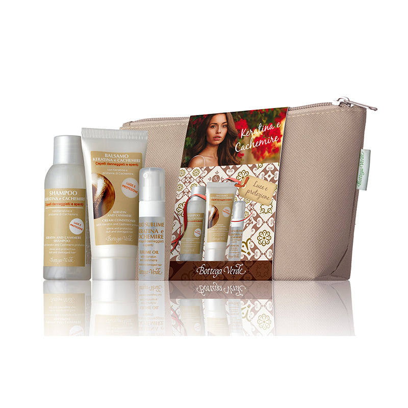 Keratin & Cashemere Hair Care Travel Kit