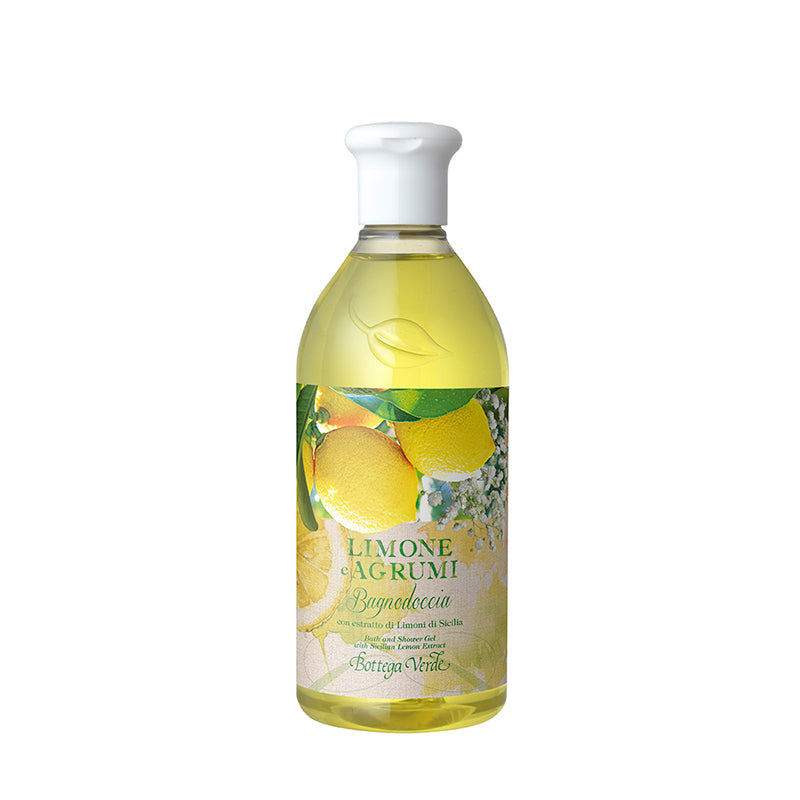 Lemon & Citrus - Bath and Shower Gel with Sicilian Lemon Extract (400 ml)