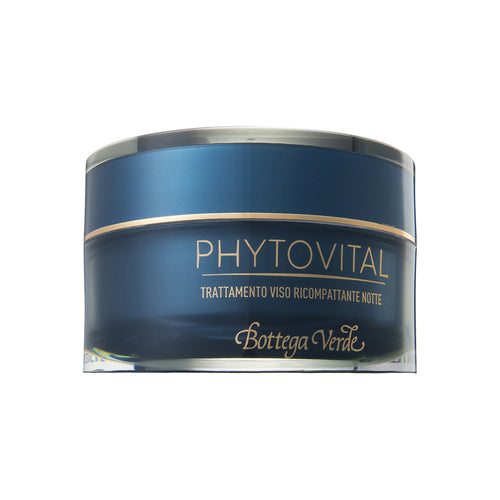 Phytovital Face Compacting Night Treatment With Marine Collagen, Sea Grape And Mediterranean Plant Extracts (50 ml)