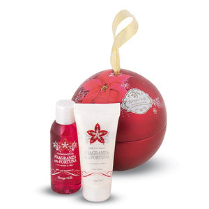 Gift Set - Ball Fragrance Of Fortune Bath&Shower,Hands Cream
