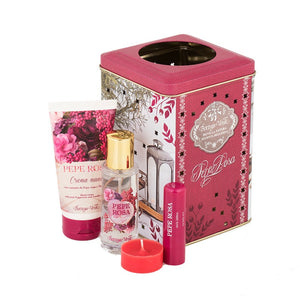 Gift Set - Pink Pepper Hands Lips Edt Lantern Gift Set