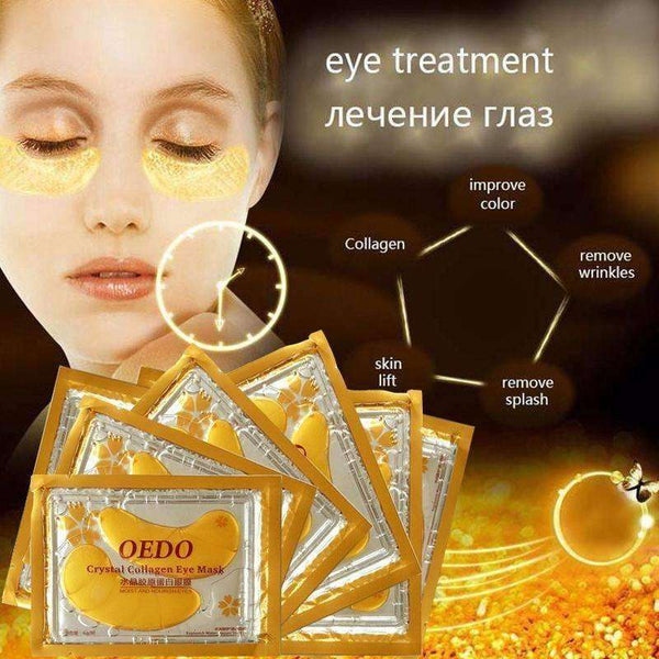 Beauty - Dark Circle Eye Mask Gold Crystal Collagen Eye Mask