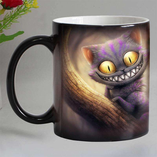 Kitchen - Cheshire Cat Heat Sensitive Coffee Mug