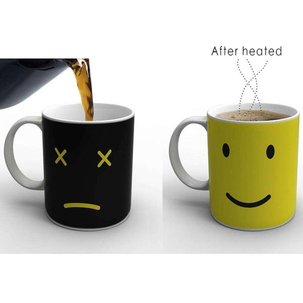 Kitchen - Heat Changing Smiling Mug