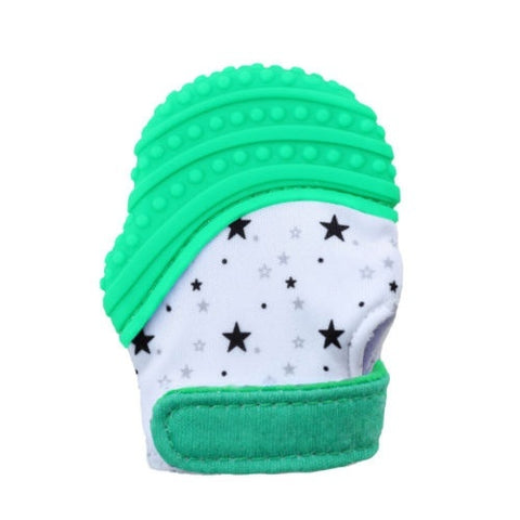 Toddler Silicone Teething Pain Relief Mitt Gloves With Sound