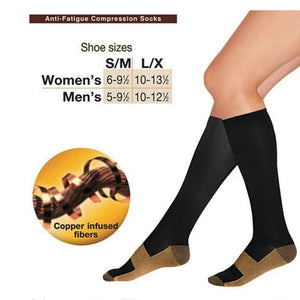 Wonderful Comfortable Relief Soft Unisex Anti-Fatigue Compression Socks